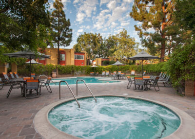 Bellflower apartment pool and spa