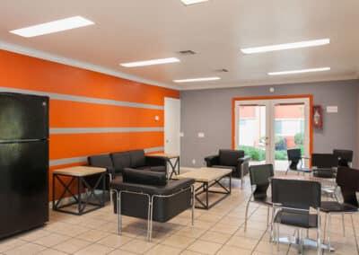 Modern spacious apartment clubhouse