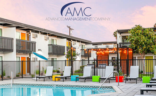 Advanced Management Company apartment swimming pool
